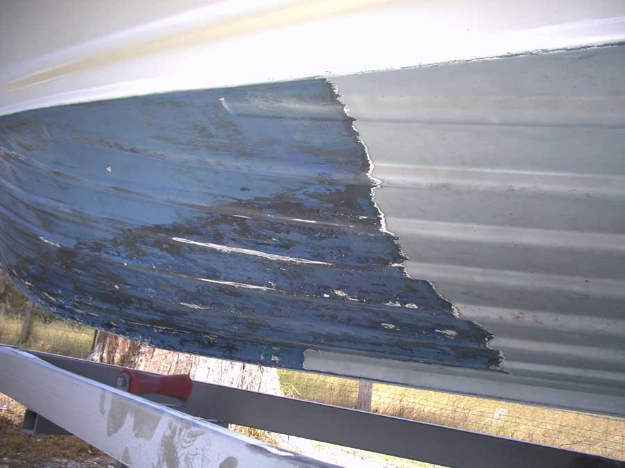 fibreglass boat restoration