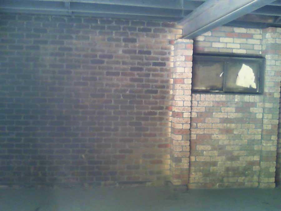 cleaning fire damage bricks