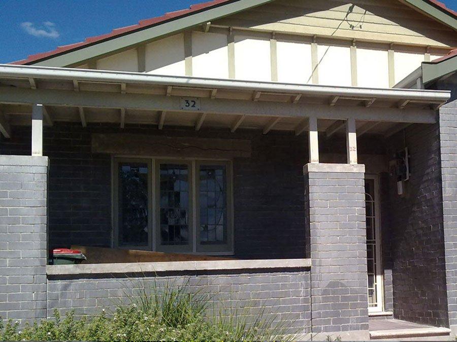 House brick restoration